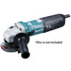"Makita GA4040C 4"" Variable Speed Angle Grinder 100mm (1,400W) - GIGATOOLS.PH"
