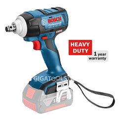 Bosch GDS 18V-EC 250 Professional Brushless Cordless Impact Wrench (Heavy Duty) (Bare Tool)