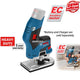Bosch GKF 12V-8 Professional EC Brushless Cordless Palm Edge Router/Trimmer ( Bare Tool Only ) - GIGATOOLS.PH