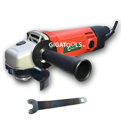 MailTank Grinder and Drill Combo Package (3pcs Cutting Disc, 1pc Grinding Disc, and extra Carbon Brush each)