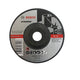 "Bosch 4"" Grinding Disc for Stainless, Inox ( 2608602267 ) - GIGATOOLS.PH"