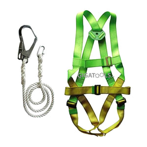 Adela Full Body Harness Heavy Duty Belt Set ( HL-5038 ) - GIGATOOLS.PH