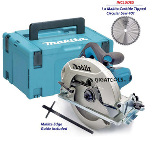 "Makita HS7010 Circular Saw 7-1/4"" (1600W) with MAKPAC Type 3 Stackable Connector Case - GIGATOOLS.PH"