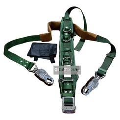 Adela Lineman Safety Harness Heavy Duty Belt with Pole Strap ( H-117 )