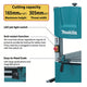 Makita LB1200F Vertical Band Saw Machine (900W)