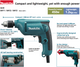 "Makita 6412 3/8"" Hand Drill (10mm, 3000rpm, 1.2kg) (450W) - GIGATOOLS.PH"