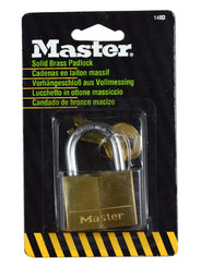 Master 140D Solid Brass Padlock (40mm)