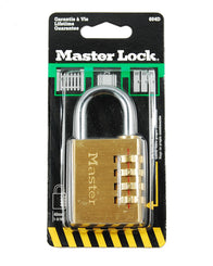 Master 604D Solid Brass Set-Your-Own Combination Padlock