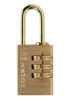 Master 620D Solid Brass Set-Your-Own Combination Padlock