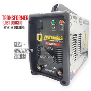 Powerhouse BX-8 250 Evolution Series Portable Stainless Body Welding Machine
