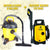 Powerhouse Bundle - Vacuum Cleaner 6 gal and Pressure Washer 120 bars