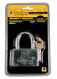 Powerhouse Tools Chrome Plated Padlock 60mm - GIGATOOLS.PH