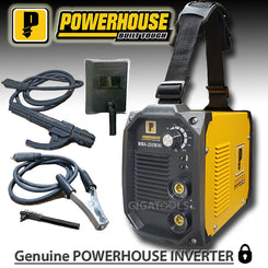 Powerhouse MMA-200 200Amps Portable DC Inverter Welding Machine (100% Copper)