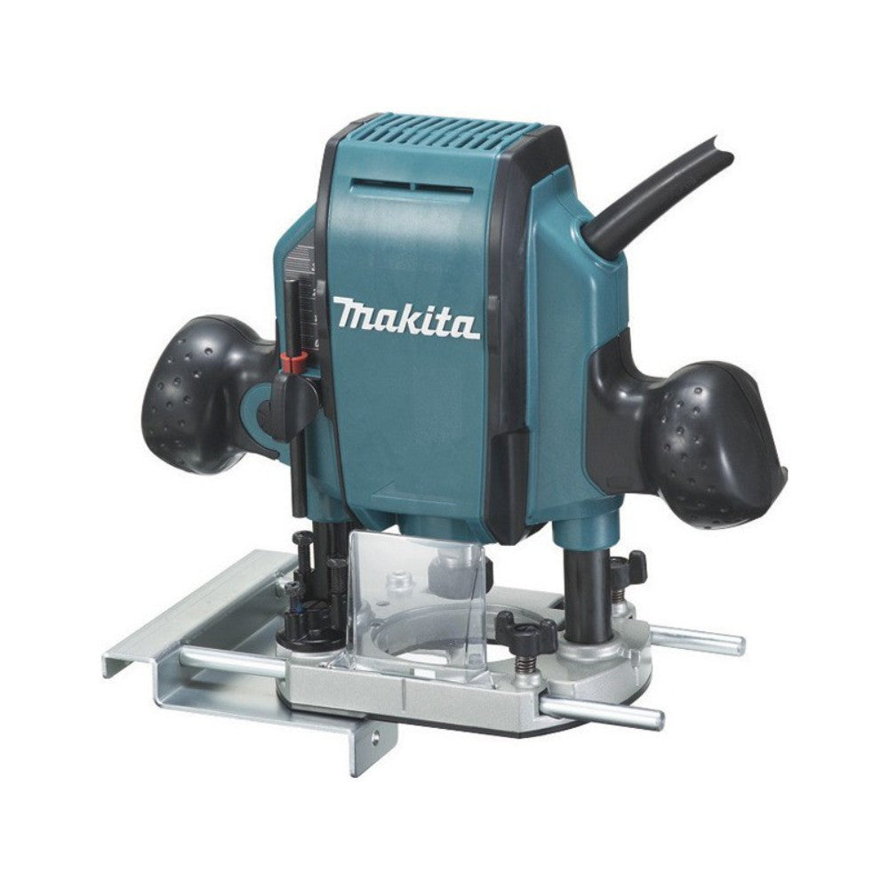 Makita Rp0900 1 4 1 1 4hp Router Plunge Type 900w Gigatools Industrial Center