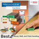 Bosch Abrasive Sanding Pad / Foam for Flat and Edge 3pcs Set ( 2608621253 )