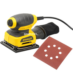 "New Stanley STEL401 1/4"" Sheet Finishing Palm Sander (220W)"
