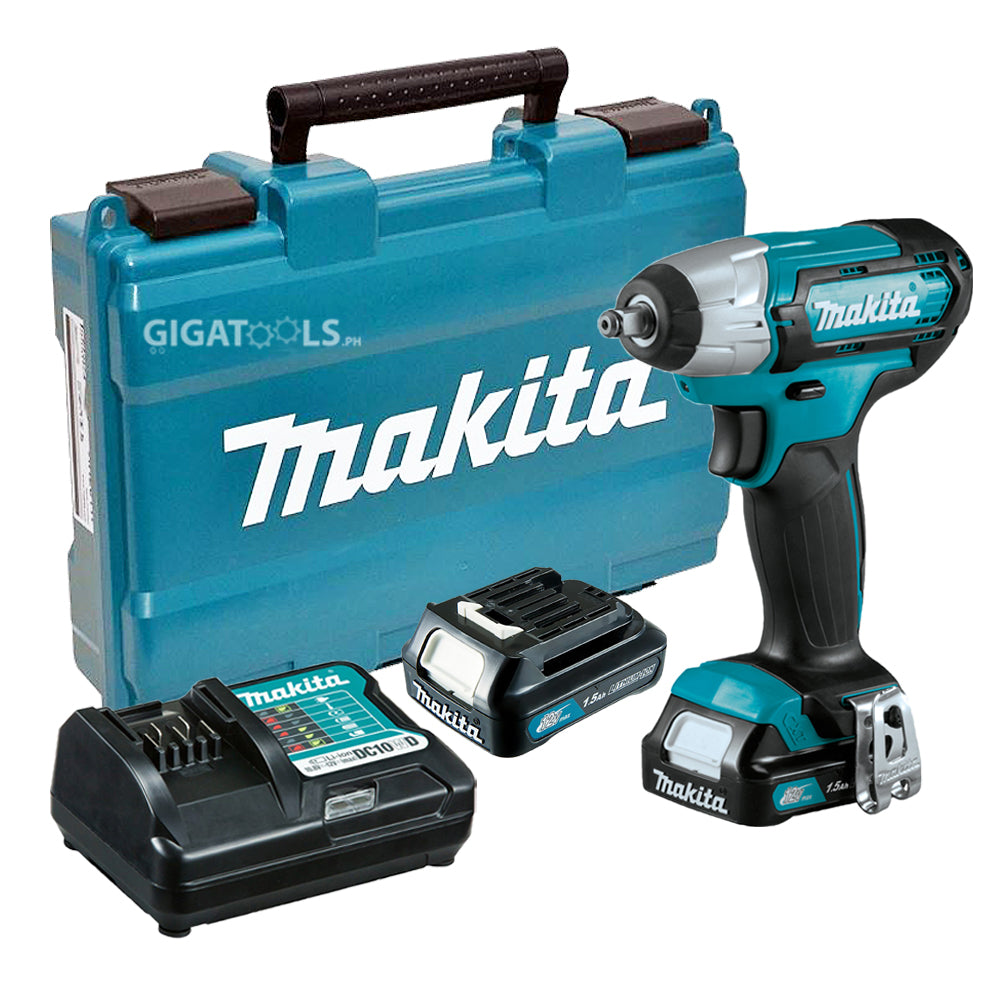 Makita Tw140dwyex Cordless Impact Wrench 3 8 Max12v Cxt Kit Set Gigatools Industrial Center