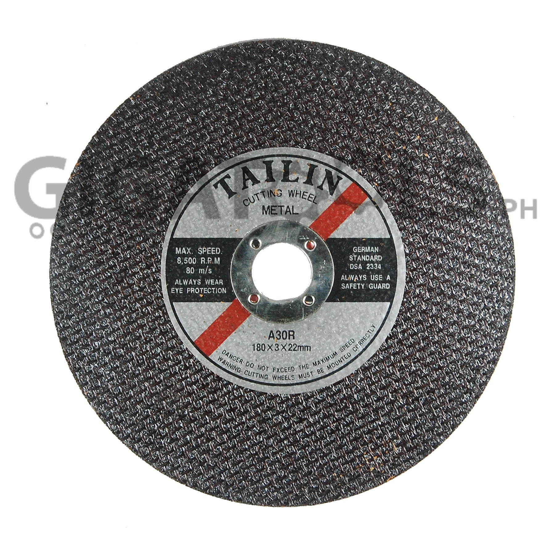 Tailin 7 Quot Cutting Disc For Steel Gigatools Ph