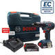 New Bosch GSB 18V-50 Professional Robust Brushless Motor Cordless Impact Drill Set - GIGATOOLS.PH