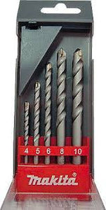 Makita Tungsten Carbide Tipped (TCT) Masonry Drill Bit Set 5pcs (D-05175) - GIGATOOLS.PH