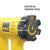 DeWalt D26411 Heat Gun with Rotary Air Temperature Dial (1,800W) - GIGATOOLS.PH