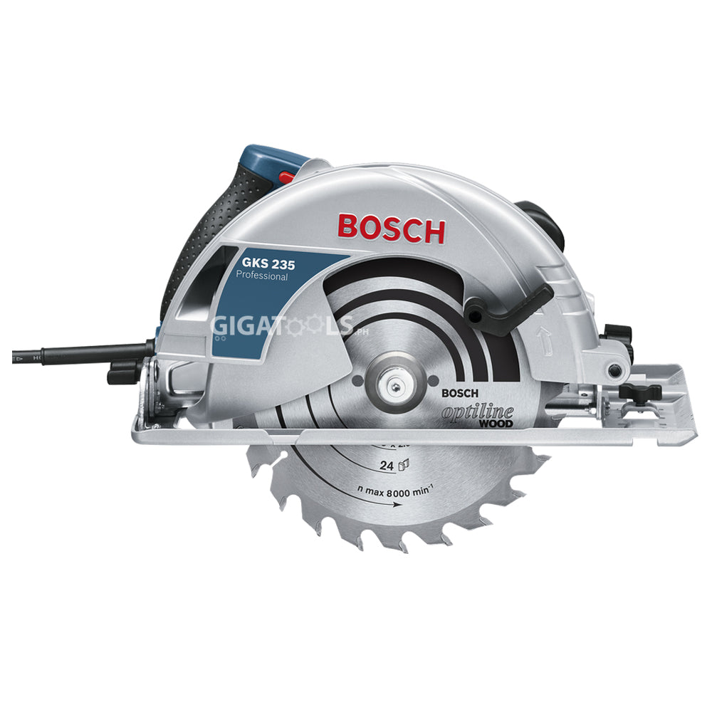 Bosch Gks 235 Turbo Professional Hand Held Circular Saw 2 100w Gigatools Industrial Center
