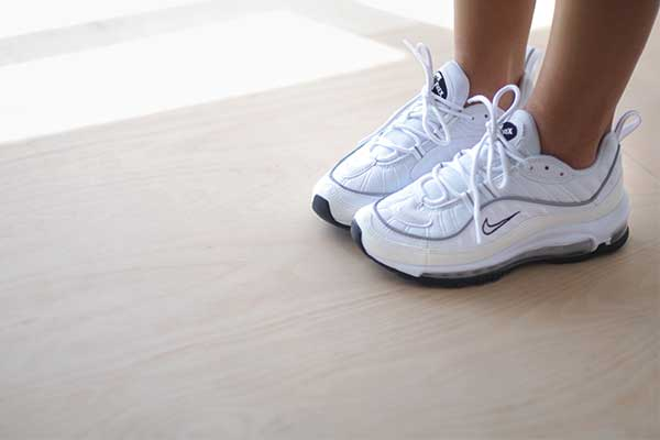 bulletin: Nike Women's Air Max 98 has arrived in a fresh white colour way!