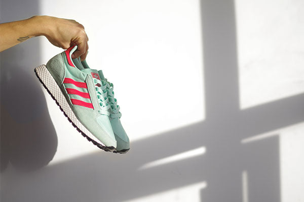 bulletin: colour pops on the latest forest grove from adidas originals