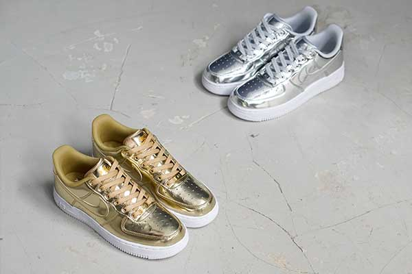 "Bulletin: The all-new Nike Air Force 1 SP ""Liquid Metal"" Pack!"