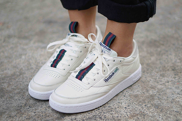 bulletin: the Reebok Club C MU adds some delicious taping goodness!