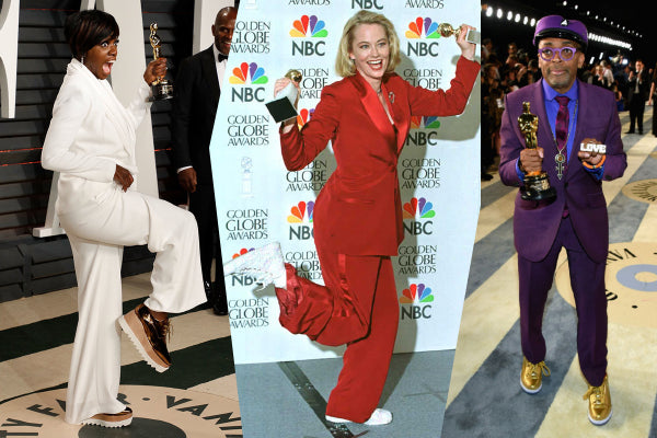feature: the oscars most iconic sneaker moments!