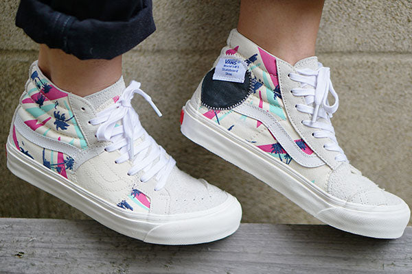 Bulletin: Summers here with the Vans sk8-hi bricolage lx