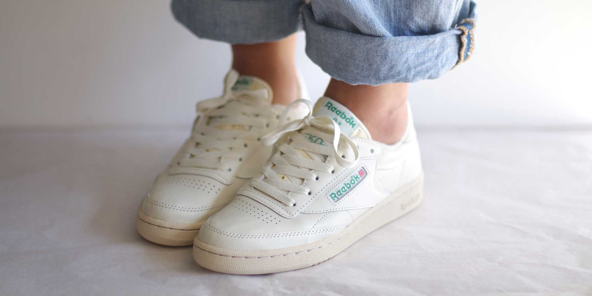 6be4d3a8556 bulletin: Reebok Club C 85 Vintage is back in glen green! | Pam Pam