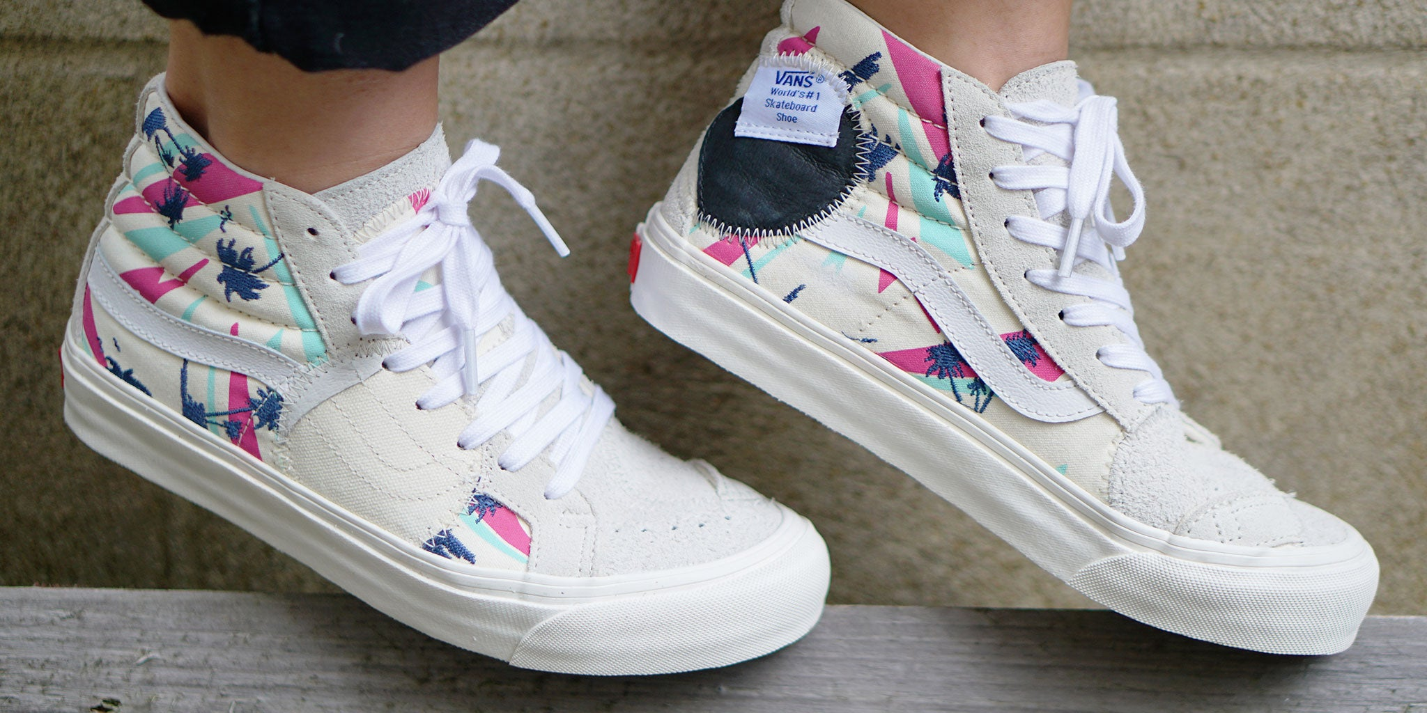 e08282c260 Bulletin  Summers here with the Vans sk8-hi bricolage lx