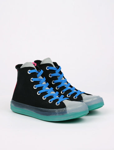 Converse Chuck Taylor All Star CX Pull Tab High - Black/Court Green/Hyper Pink