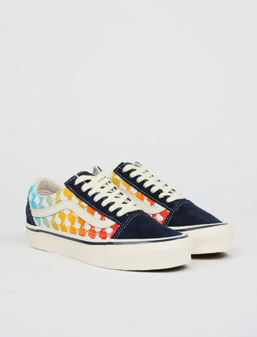 Vans x Free & Easy OG Old Skool LX - Ying Yang/Dress Blue