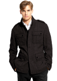BOSS Black 'Colbar' Virgin Wool Field Jacket