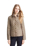 Kencott' Patch Pocket Quilted Coat