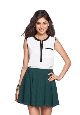 Knit Skater Skirt (Juniors)