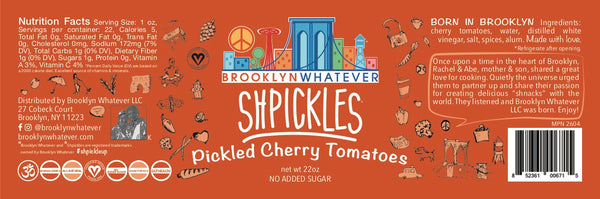 Shpickles: Pickled Cherry Tomatoes