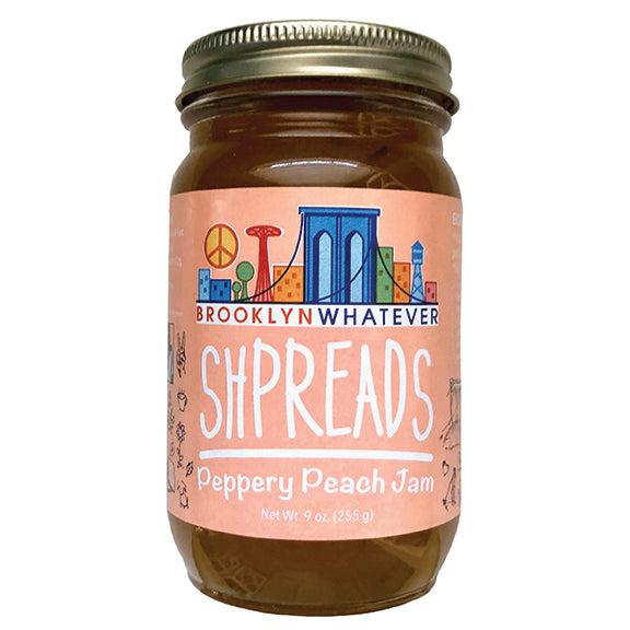 Peppery Peach Jam