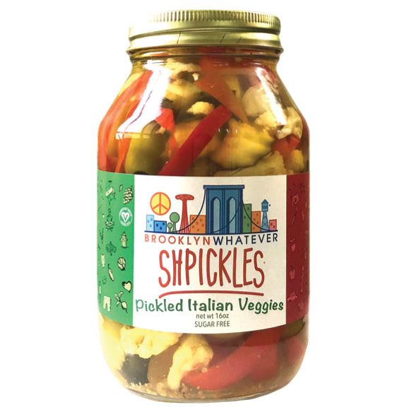 Shpickles: Pickled Italian Veggies