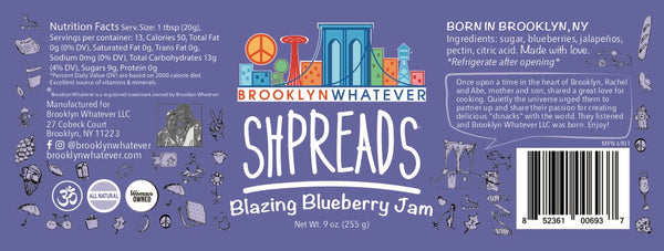 Blazing Blueberry Jam