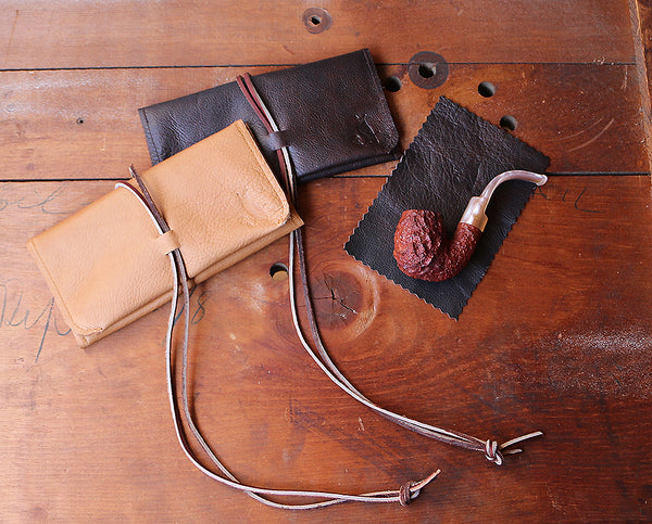 The Pioneer Pipe Roll ~ Vintage Brown Bison - Only 1 left! - SORRINGOWL & SONS ~ Est. 2011