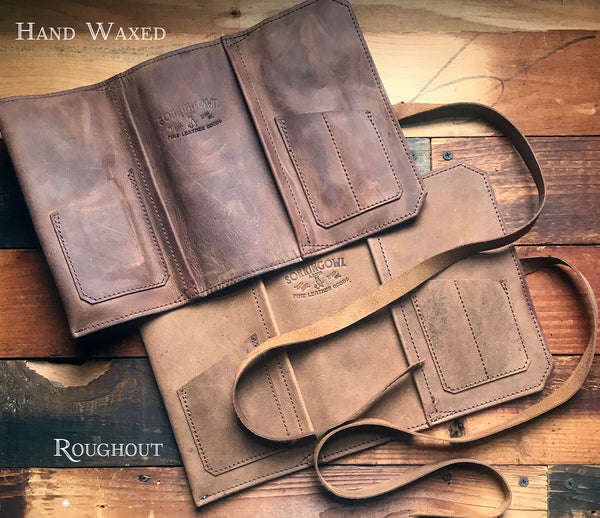The Standard Pipe Pouch ~ Rough & Tumble Tan Leather - Limited Run!