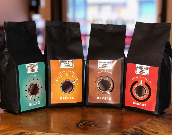 Badger Bros Coffee 4-pack