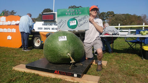 World Record  470.5 Bushel Gourd DVD Wallace Organic Wonder