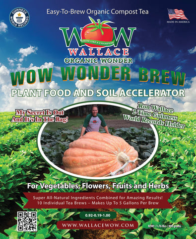 Compost Tea Brew Wallace Organic Wonder Wonder Brew