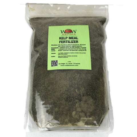 Kelp Meal Soil Conditioner Wallace Organic Wonder