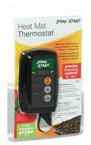Jump Start digital thermostat for heat mats